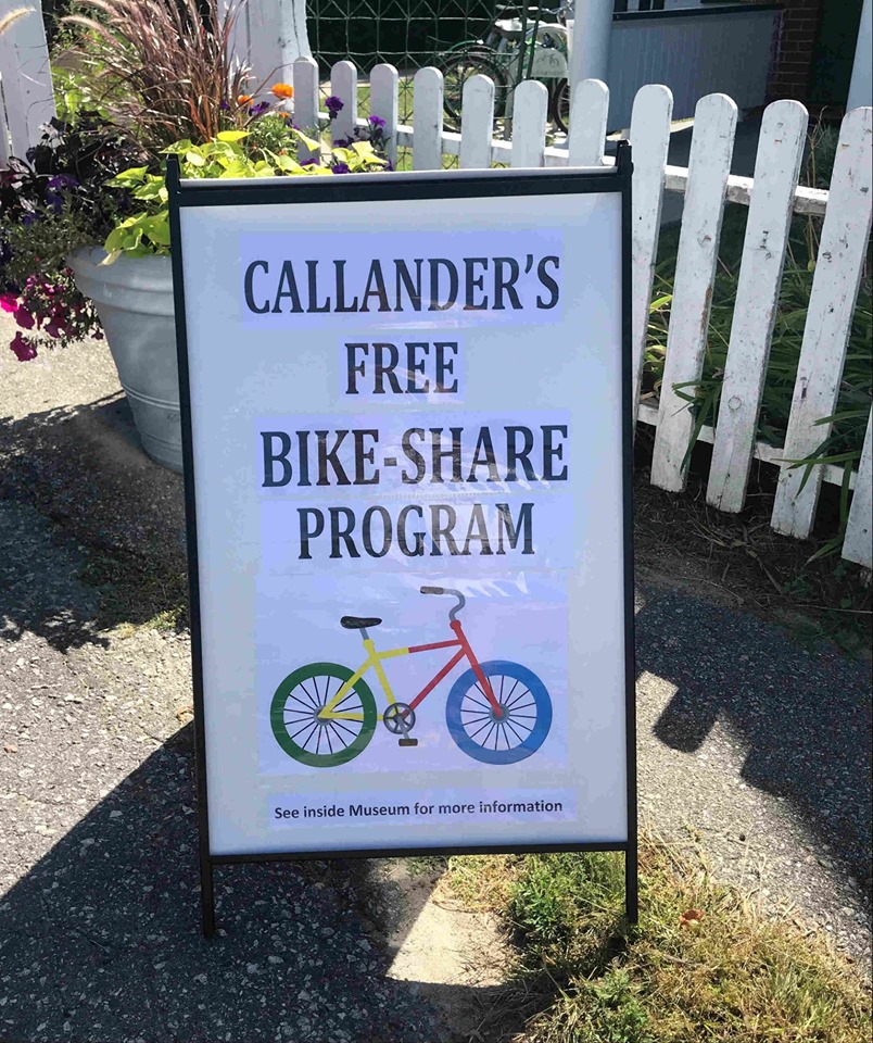 Sign Callander's bike-share project