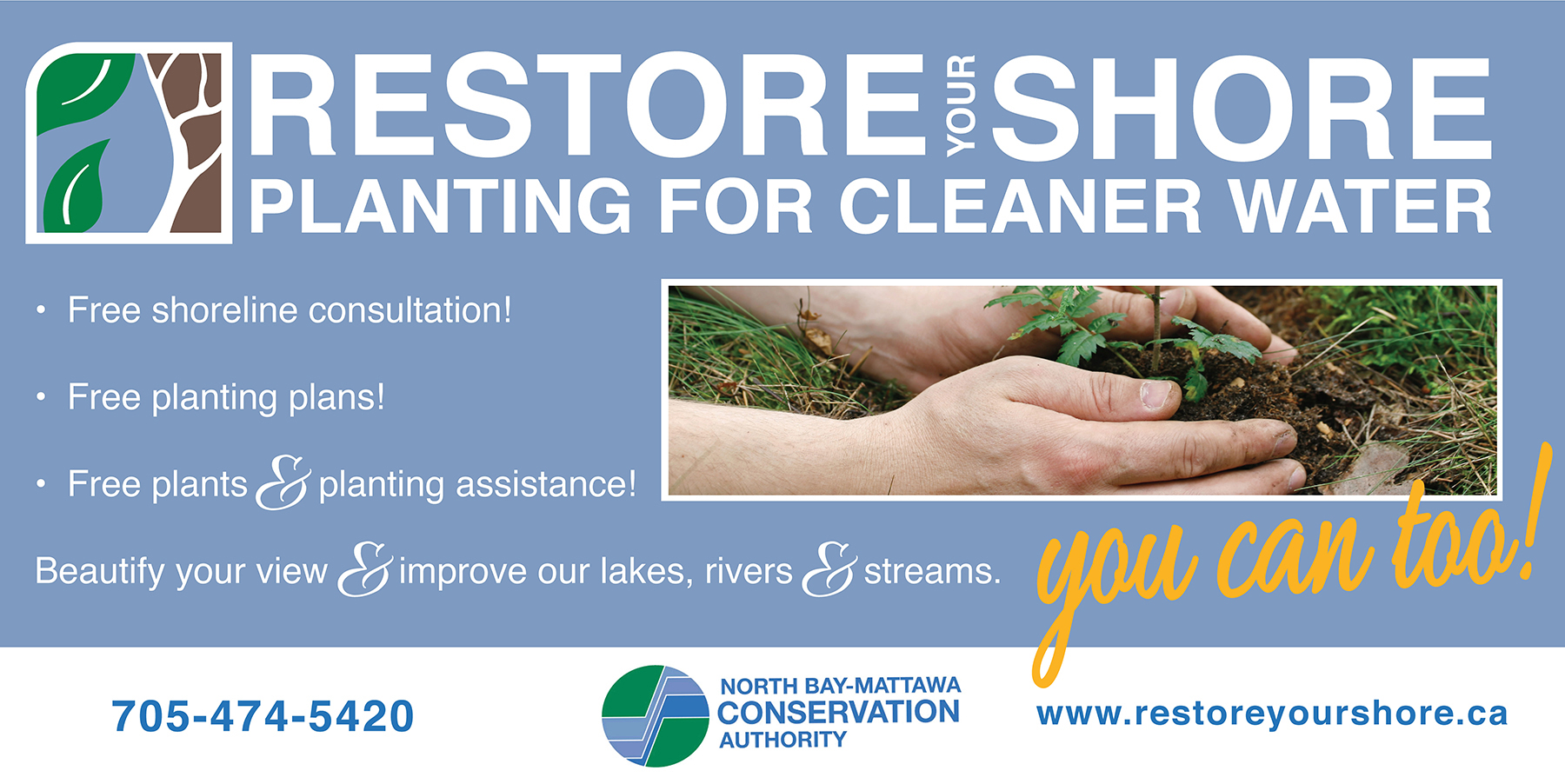 Restore Your Shore Poster